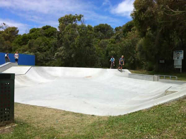 Port Campbell New Skatepark
