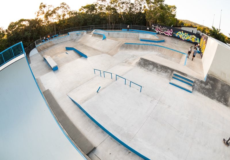 Sunshine Beach New Skatepark