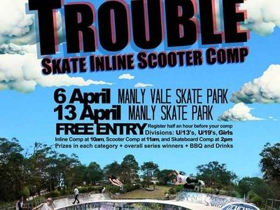 Manly Skate Comps