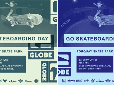 GLOBE - GO SKATEBOARDING DAY