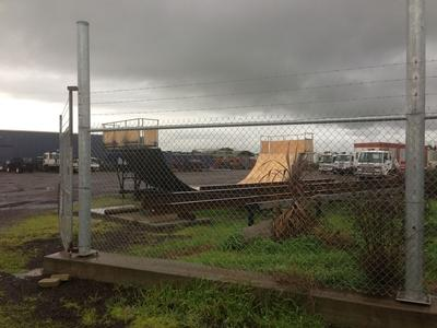 Yard Mini Ramp
