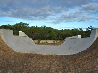 Woodgate Beach Mini Ramp