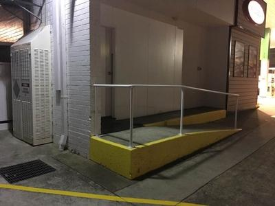 Yellow Wheel Chair Ramp