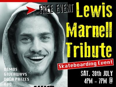 RE: Lewis Marnell Tribute event at the Park