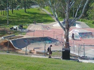 Browns Plains park work and pump track